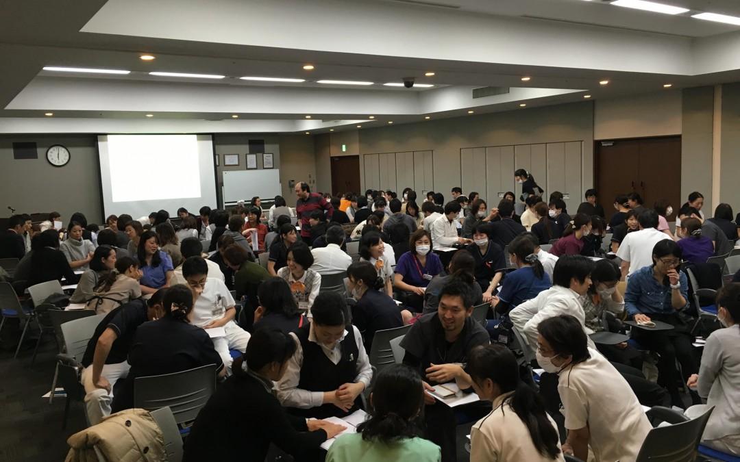患者サービス委員会主催の研修 「ディズニー流接遇とクレーム応対」 講師:石坂秀己氏
