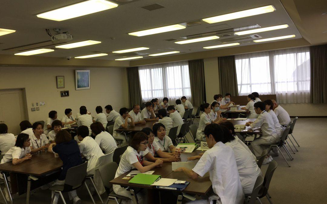 やる気が出る!笑顔で働くためのヒント満載!岡山県の国立療養所様でディズニー接遇研修