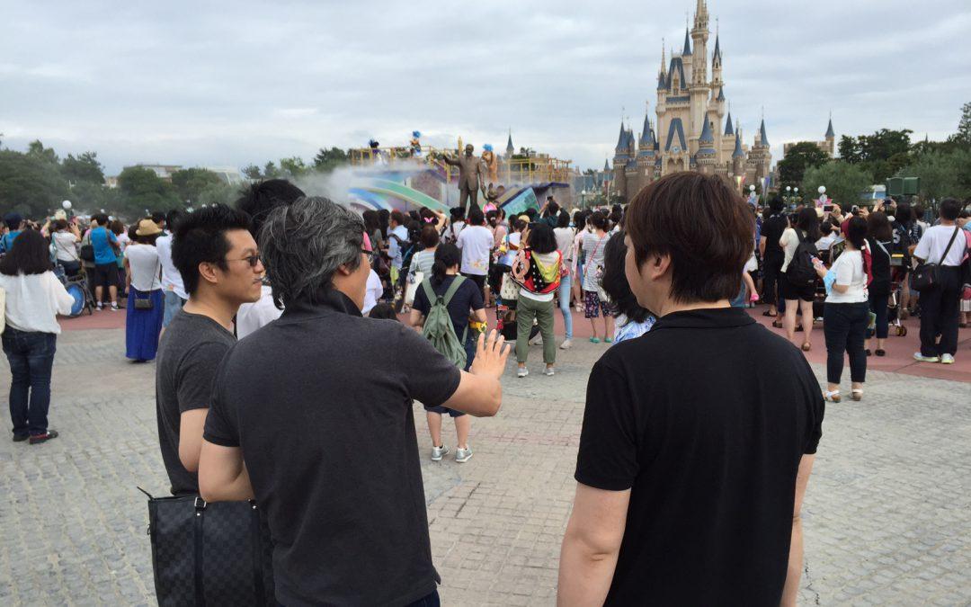 中国からのお客様(経営者向け)にディズニーセミナーとパーク案内 講師:石坂秀己氏
