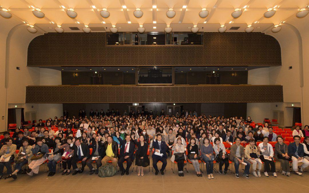 長崎県の医療法人様の経営計画発表会にて「接遇力を高める5つの心」 講師:川田直子氏