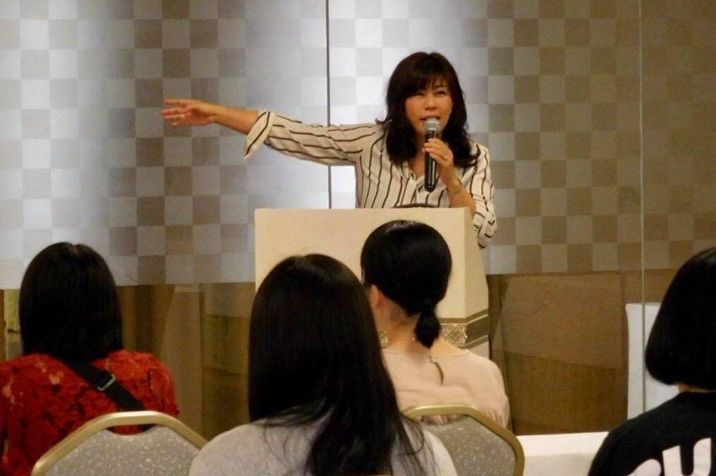 専門学校 修学旅行向け ディズニー講演 講師:野村綾氏